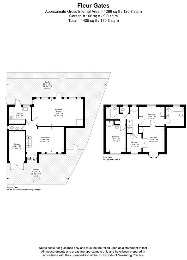 Floorplan for Fleur Gates, Princes Way, Wimbledon